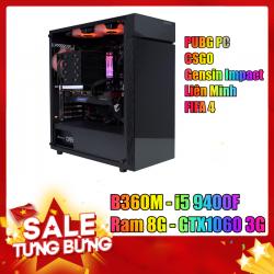 Case chơi game tầm cao - Chiến PUBG PC, CSGO...